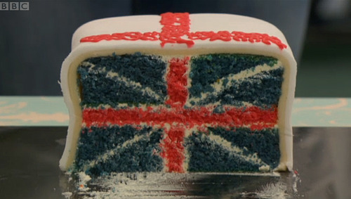 Great British Bake Off Union Jack Cake Recipe