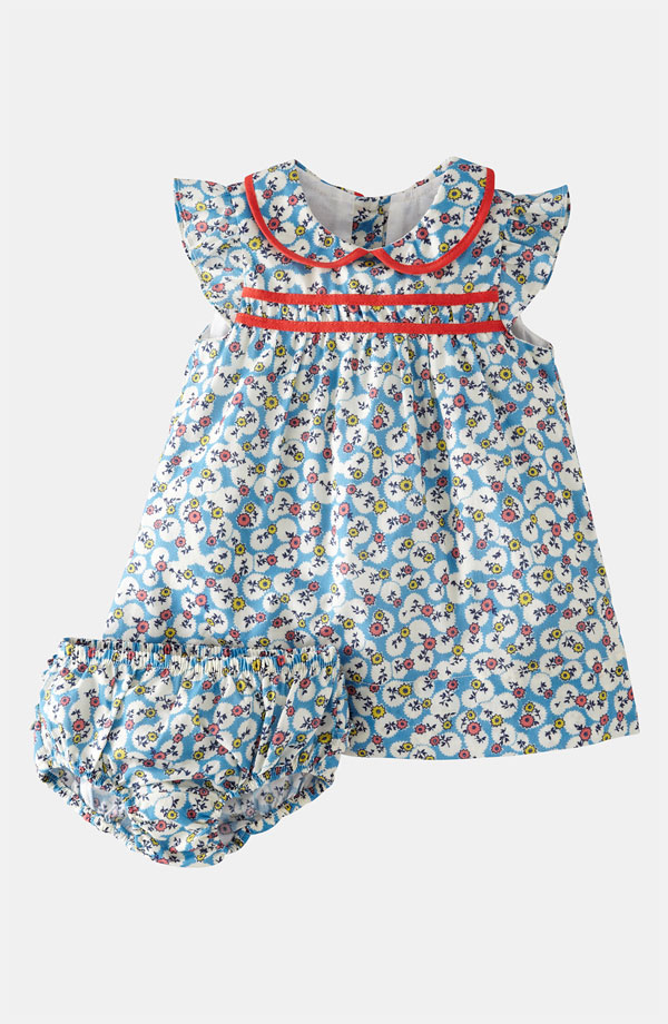 Mini Boden 'Pretty Tea' dress and bloomers
