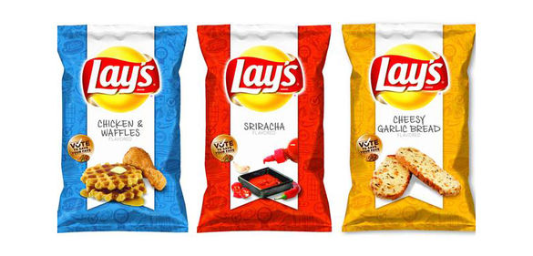 Lay's flavored chips