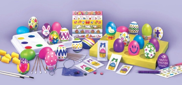 Easter coloring kit