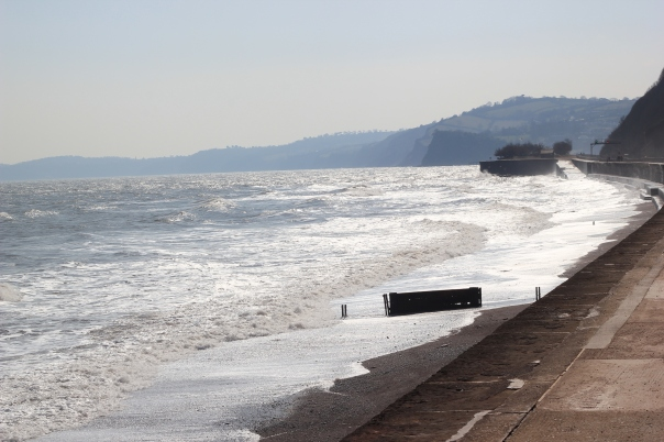 Teignmouth seawall