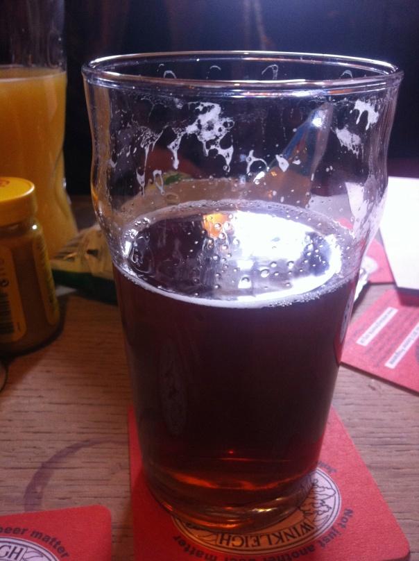 Pint at Duke of York Pub