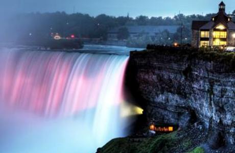Niagara Falls royal birth