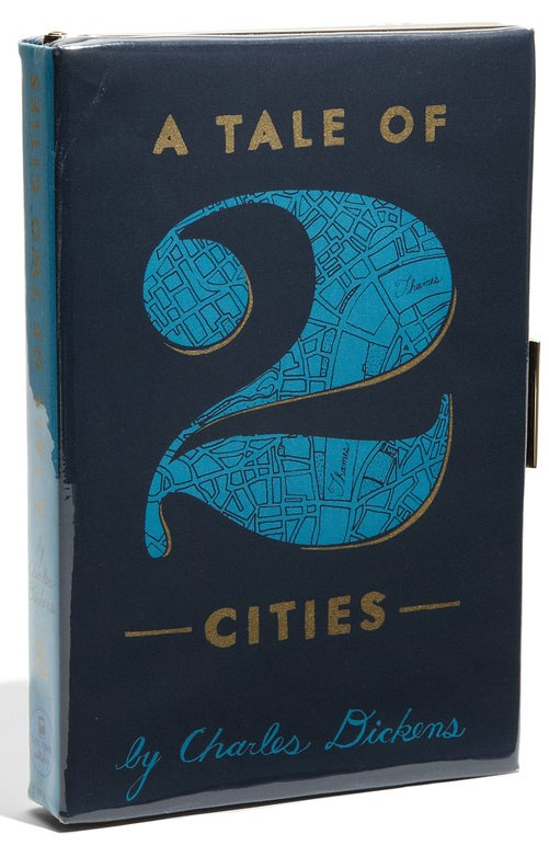 A Tale of Two Cities Book Clutch