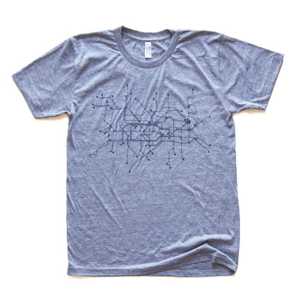 London T-Shirt Gray