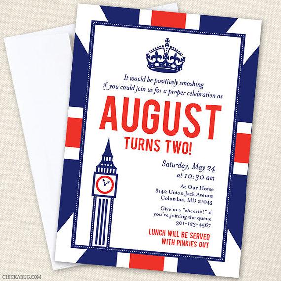 British invitation