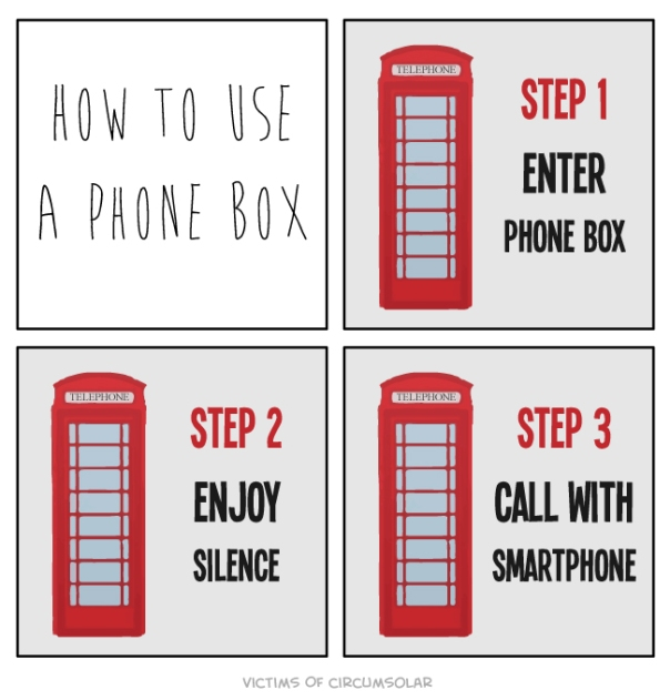 How to use a phone box