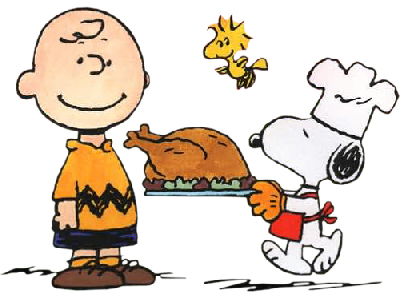 Thanksgiving Charlie Brown and Snoopy