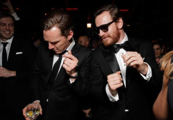 Benedict Cumberbatch and Michael Fassbender