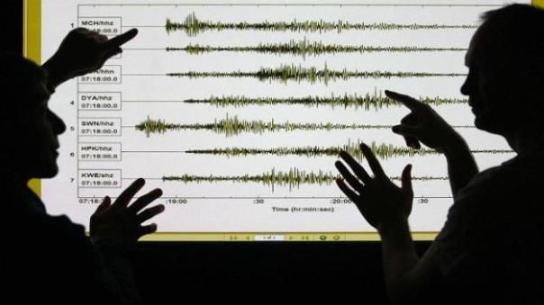 British earthquake
