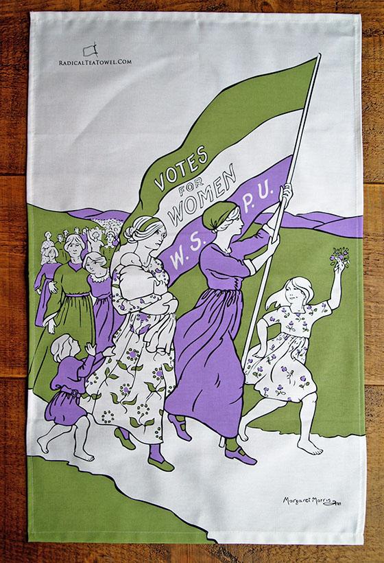 Suffragette Tea Towel