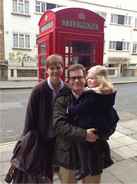 Erin Moore and her husband, Tom, have spent the last seven years in London, where they live with their four-year-old daughter Anne—and another baby on the way