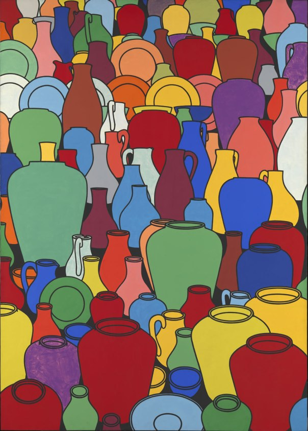 "Patrick Caulfield, ""Pottery"""