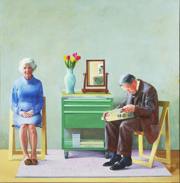 David Hockney, My Parents