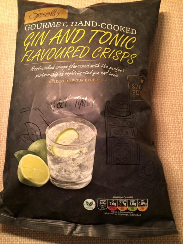 Gin and Tonic Flavored Crisps